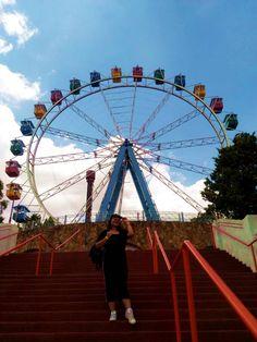 Look do Dia: Hopi Hari - Carol Doria, look do dia parque de diversão, o que usar no hopi hari, que roupa usar no hopi hari, que roupa usar no parque de diversão, parque de diversão, fotos no parque de diversão, amusement park