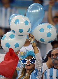 Galeri Suporter: Argentina vs Bosnia