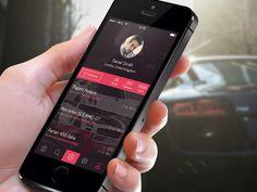 The Car Spotters App Design