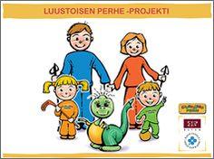 Diaesitys Luustoisen perhe -projekti Projects To Try, Family Guy, Science, Guys, Comics, Water, Fictional Characters, Art, Gripe Water