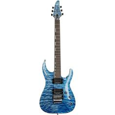 ESP Original Horizon CTM Electric Guitar with Floyd Rose Faded Sky Blu