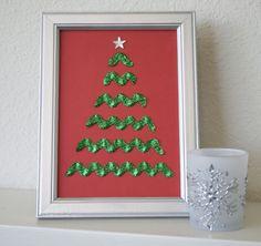 Ric Rac Chritmas trees good idea for Christmas cards..