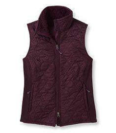 #LLBean: Fleece-Lined Fitness Vest
