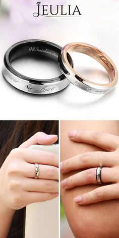 Vine Ring / Solid Gold Diamond Vine Band / Diamond Leaf Ring in Rose Gold / Eternity Diamond Branch Ring / Bridal Jewelry - Fine Jewelry Ideas Silver Claddagh Ring, Claddagh Rings, Promise Rings For Couples, Matching Promise Rings, Branch Ring, Sapphire Band, Cute Rings, Ring Set, Titanium Rings