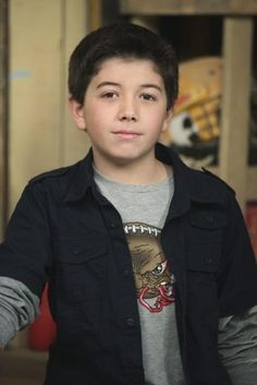 Everyone tells me that Ethan looks just like him!  Bradley Steven Perry - Gabe