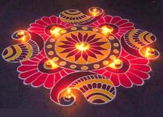 Discover beautiful diwali rangoli designs for your house. These simple rangoli designs can be made during festivals like Dussehra, Ugadi and Holi too. Best Rangoli Design, Indian Rangoli Designs, Simple Rangoli Designs Images, Rangoli Designs Latest, Rangoli Designs Flower, Free Hand Rangoli Design, Small Rangoli Design, Rangoli Patterns, Rangoli Ideas
