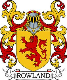 Rowland Coat of Arms