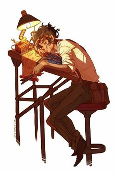 Leo valdez, percy jackson, and leo image Percy Jackson Art, Drawings, Character Art, Character Design