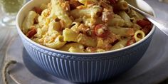 The best Carrot and Ricotta Rigatoni recipe you will ever find. Welcome to RecipesPlus, your premier destination for delicious and dreamy food inspiration. Rigatoni Recipes, Pasta Recipes, Yummy Food, Tasty, Cherry Tomatoes, Ricotta, Food Inspiration, Potato Salad, Macaroni And Cheese