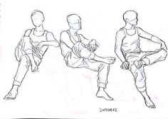 Sitting Pose Reference, Art Reference Poses, Boy Drawing, Drawing Base, Drawing Poses Male, Poses Manga, Body Reference Drawing, Manga Drawing Tutorials, Sitting Poses