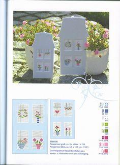 Gallery.ru / Фото #29 - Dahlbeck-Blumchen - Orlanda Cross Stitch House, Small Cross Stitch, Cross Stitch Cards, Cross Stitch Baby, Cross Stitch Flowers, Quilt Stitching, Cross Stitching, Cross Stitch Embroidery, Kids Patterns