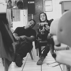 meni and i   The BarberShop .Crack Fam g's    SpoonPhotographer  Sund 04 Sept. /12