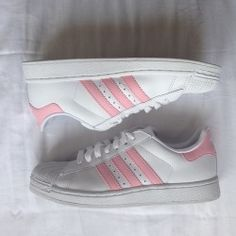 baby pink, pink adidas sneakers, adidas superstar, sneakers, shoes