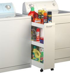 Great idea if there is a lack of cabinet space.
