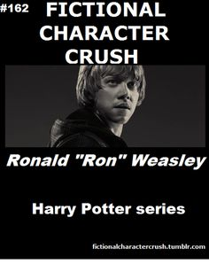 So I'm not really a Potterhead... but I think Ron's pretty cute. If oblivious. But still. And Rupert Grint has an ice cream truck. Like what more could I ask for?