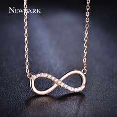 Find More Pendant Necklaces Information about NEWBARK Romantic Infinite Number 8…