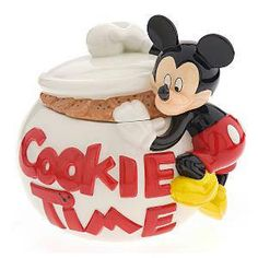 Mickey Mouse with Cookie Jar