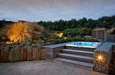 OK so this is not tropical, more South Island but Yum! by Design & Garden Landscapes Ltd, NZ