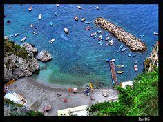 Colori del mare - spiaggia di Conca dei Marini - Amalfi