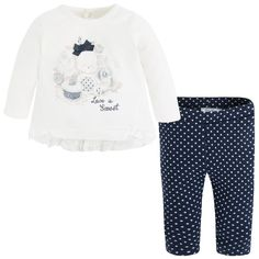 Leggings and t-shirt set Blues - Mayoral