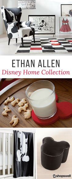 Disney lovers of the world, you're going to want to check out the Ethan Allen Disney Home Collection immediately.