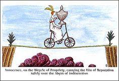 The Bicycle of Prosperity - Edward Gorey