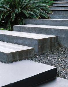49 Ideas For Exterior Stairs Ideas Garden Steps Landscape Steps, Landscape Design, Landscape Bricks, Houses In Austin, Garden Stairs, Garden Gazebo, Garden Paths, Outdoor Steps, Concrete Stairs