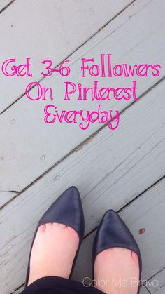 How to Get More Pinterest Followers - useful for Etsy shop sellers and creative handmade business owners