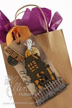 Boo your neighbor! Cute Halloween tag!