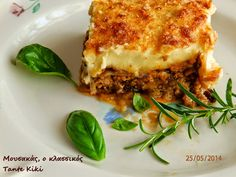 Μουσακάς με φέτα, πιάτο με διαχρονική αξία | Tante Kiki Lasagna, Ethnic Recipes, Food, Essen, Meals, Yemek, Lasagne, Eten