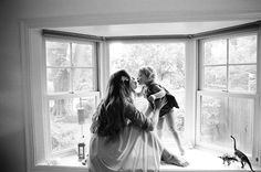 Mother-daughter photo by Yan Palmer