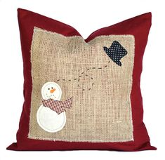 Items similar to Star Light Star Bright Snowman Cat Mouse Country Primitive Chri. : Items similar to Star Light Star Bright Snowman Cat Mouse Country Primitive Christmas Winter Pillow Cupboard Tuck Sitter on Etsy Christmas Applique, Christmas Sewing, Primitive Christmas, Christmas Snowman, Handmade Christmas, Christmas Crafts, Christmas Decorations, Merry Christmas, Diy Pillows
