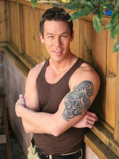 David Bromstad, the 1st HGTV Design star. I guess hes also the most popular!!!