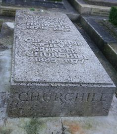 Grave of Winston Churchill by Hillarie, via Flickr