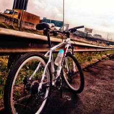 Bike on the free way. #bike #sports