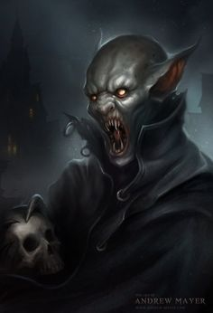 Not sure if this is a vampire.or something eelse. Im guesssong a vampire Dark Fantasy, Fantasy Art, Art Noir, Vampire Art, Scary Vampire, Vampire Tattoo, Female Vampire, Horror Monsters, Angels And Demons