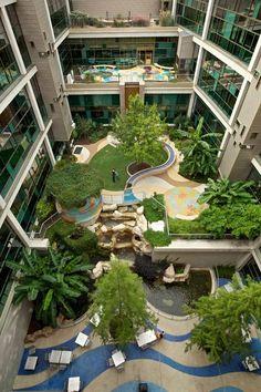 Healing Garden, Dell Children's Hospital, Austin, TX is part of Hospital design architecture - Healthcare Architecture, Plans Architecture, Green Architecture, Healthcare Design, Landscape Architecture, Landscape Design, Architecture Design, Garden Design, Computer Architecture