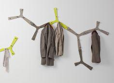 Perchero de pared modelo Branch