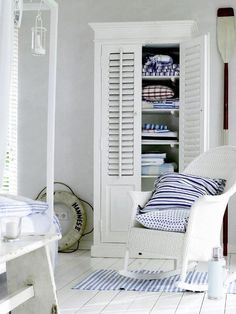 i want this cabinet / armoire in a laundry room.