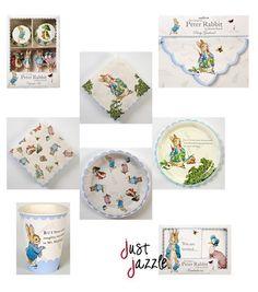 peter rabbit baby shower | Peter Rabbit Meri Meri Baby Shower Birthday Party Supplies You Pick ...