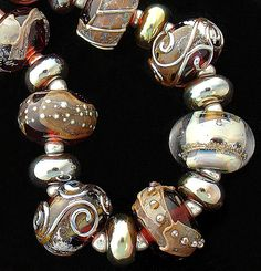 DSG Beads Handmade Organic Lampwork Glass-Made To by debbiesanders