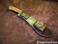 Sagewoodgear custom Kukri Sheath
