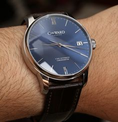 Christopher Ward C9 Harrison 5 Day Automatic Watch Review & Debut wrist time watch reviews