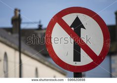 One way street, no entry sign black red and white Irish Road Signs Red And White, Black, Photo Editing, Irish, Royalty Free Stock Photos, Signs, Street, Pictures, Image