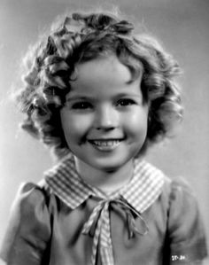 Shirley Temple, 1930s. Shirley Temple ~ an extremely talented little girl who thrilled the world with her acting, singing & dancing. She was the cutest little thing on the screen in her days at Hollywood, with her bouncing curls, cheeky dimpled face, and melt-your-heart-smile. She danced, sang, & tapped her way into people's hearts. Beautiful child-star.