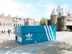 Great piece of ambient/street marketing - Amsterdam | Adidas    www.ad4group.com