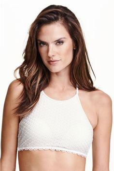 H&M - Halterneck bikini top £14.99