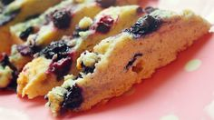 Healthy Wholegrain Blueberry Biscotti, 60 Cal