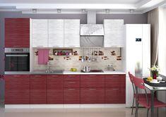 Korpus je z lamina vo farbe wenge s 3D štruktúrou dreva. Hrany sú opatrené ABS. Farebné prevedenie dvierok - vo farbe červená so striebornými vláknami v lesku. Kovové úchytky. Valencia, Divider, Room, Furniture, Home Decor, Bedroom, Decoration Home, Room Decor, Rooms