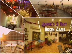 You must check out top 5 Hidden Cafes in Jaipur Address:  Jaipur, rajasthan, India #Restaurants #Family #Lively  #Cafes #Classy #CityShorJaipur